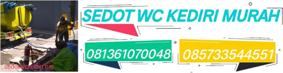 Sedot WC Kediri Murah – 081361070048
